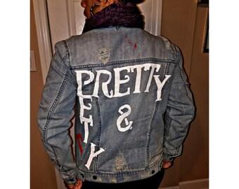 Pretty & Petty Jean Jacket