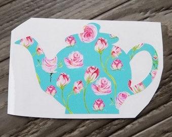 Tea Pot Vinyl Decal