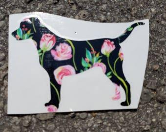 Labrador Vintage Vinyl Decal