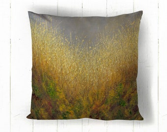 Cold Skies Warm Earth Cushion