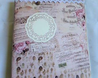 Workbook romantic shabby chic