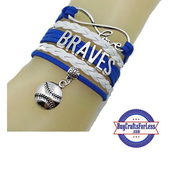 ATLANTA Leather Bracelet-U Choose CHARM  +Discounts & FREE Shipping*
