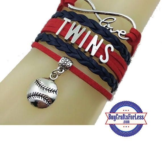 MINNESOTA Leather Bracelet-U Choose CHARM +Discounts & FREE Shipping*