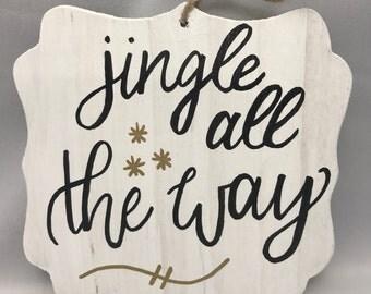 Jingle All the Way wall hanging