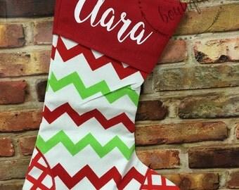 Personalized Christmas Stocking Holiday Gift