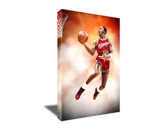 FREE SHIPPING Michael Jordan Air Highness Dunk Canvas Art
