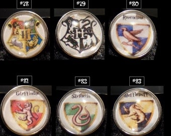 Snap jewelry Harry Potter snaps