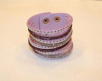 light purple cuff