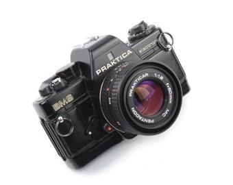 Praktica BMS Camera with PRAKTICAR 50mm MC f/1.8 Lens c.1984-89