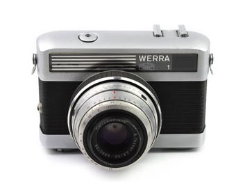 Carl Zeiss Werra 1e Camera with Jena Tessar 50mm f/2.8 Lens c.1965