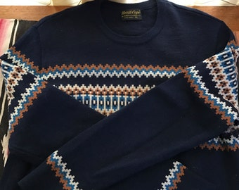 Vintage North Cape wool sweater by Knut knut