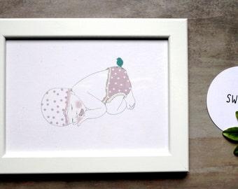 CA 004: frame and art print