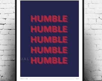 Kendrick Lamar Damn Merch, Kendrick Lamar humble poster, Kendrick Lamar Damn poster, Kendrick Lamar poster, Kendrick Lamar lyrics print art