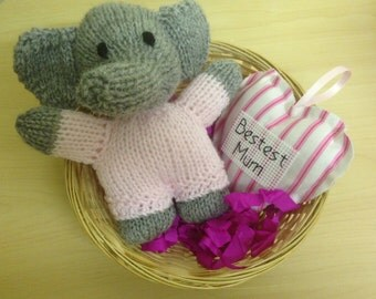 Handmade Personalised Mothers Day Basket