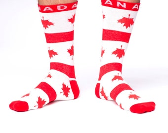 Funky Knit Creative Socks for Guys - Canada EH