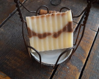 Peach Swirl Soap
