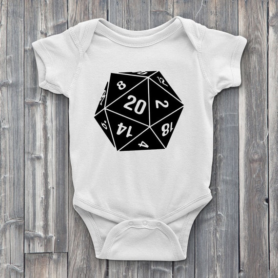 Nat 20 100% Soft Cotton Gamer ONESIE