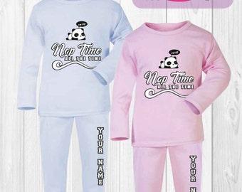 Personalised Baby and Toddler PJ's Pyjamas