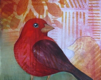 Scarlet Tanager No. 1