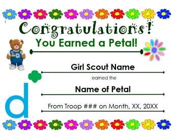 girl scout award etsy