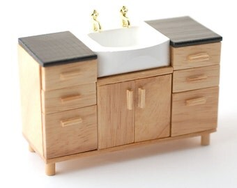Dollhouse Miniature Sink Unit 1:12 scale