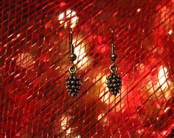 Handmade Pinecone Earrings