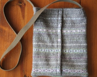 Wool Sweater Bag