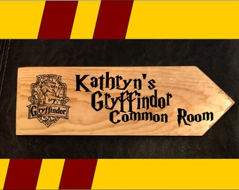 Gryffindor Common Room Sign