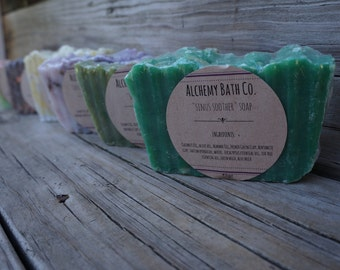 Sinus Soother, 100% All Natural, Vegan, Handmade Soap