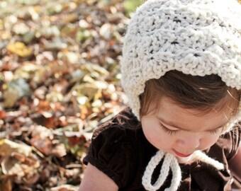 BEATRICE bonnet (ivory)
