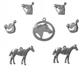Horse Charms x 7