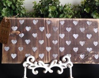 Rustic Hearts Decor