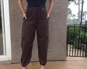 Brown and Beige Ecuadorian Pants