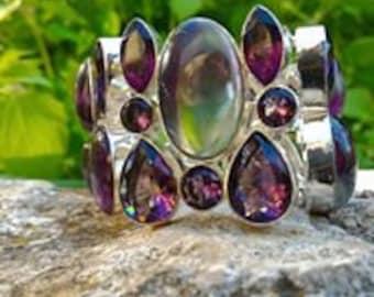 Bracelet fluorite Luxury Collection