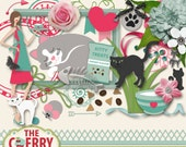 The PuurFect Kit Scrapbooking Elements