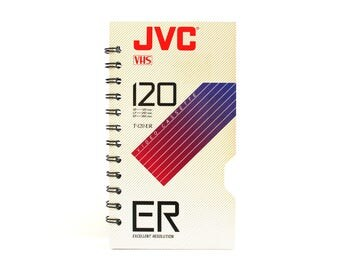 JVC Recycled VHS Notebook