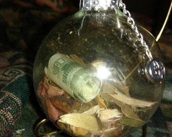 Prosperity/Abundance Witch's Ball