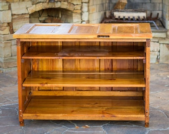 Nice Custom Handmade Cabinet, Reclaimed Doors, Entertainment Center, Refurbished  Wood Cabinet, TV Cabinet