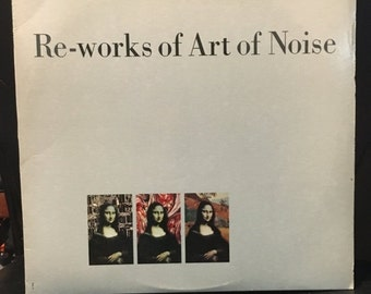 ON SALE Vintage 1986 Reworks of Art of Noise Vinyl Record Good Condition