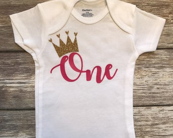 First Birthday Onesie | 1st Birthday Onesie | Personalized Birthday Onesie | Custom Birthday Onesie | Birthday Baby