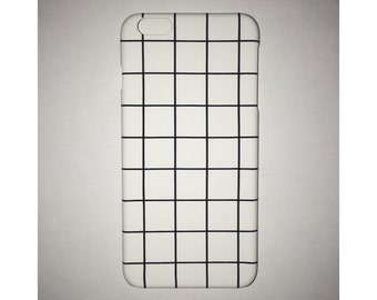 White Checker iPhone Case - iPhone 6s case, iPhone 7, 6 Plus, 5C, 5S, SE case
