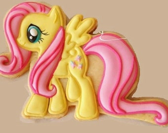 Fluttershy My Little Pony Cooke Cutter / made in USA