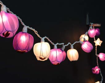 Flower Lights, Tulip Lights, Fairy Lights, String lights for bedroom, outdoor string lights, Fairy Lights, String Lights, patio lights