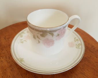 Royal Doulton, Twilight Rose cup and saucer