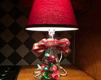 DiCello Moscato Repurposed Bottle Lamp