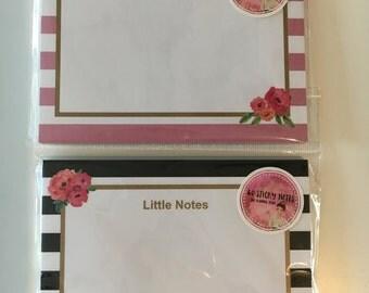 """Sticky Notes """"Stripes"""" - 40 sheets"""