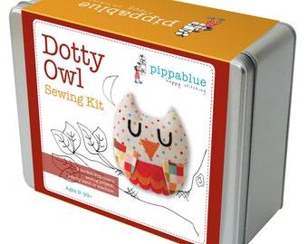 Dotty Owl - Sewing Kit