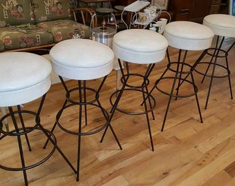 5 Atomic Era Barstools