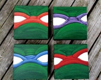 Original Painting - Ninja Turtles