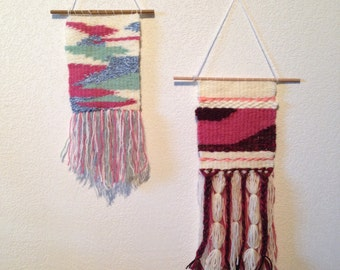 Handmade wall hanging / weaving